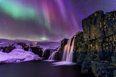 Iceland's waterfalls and the Aurora Borealis photography workshops