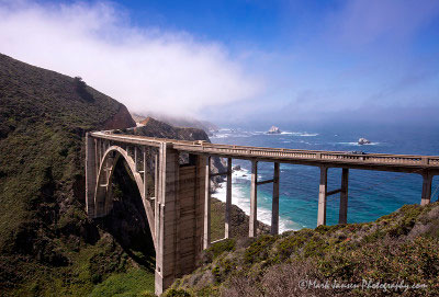 Bixby Bridge in Big Sur By Mark Jansen