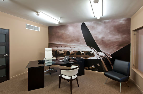 Merlin engine wall murals