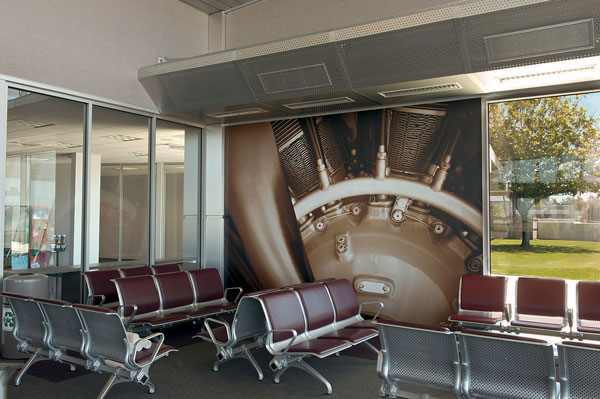 Santa Maria Airport Wall Murals