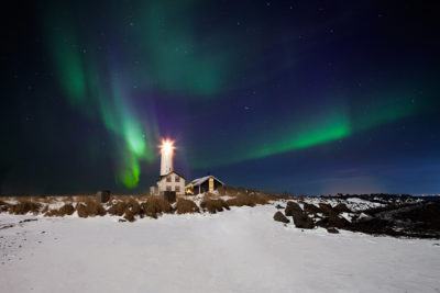 Light house workshops in Iceland