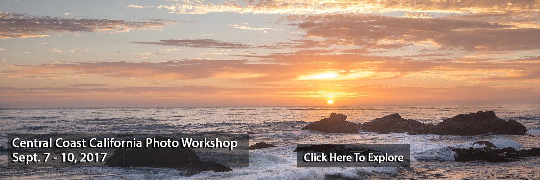 Central Coast, California Sunset