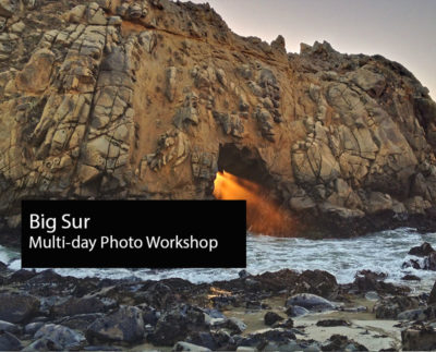 Digital Photography Workshop Big Sur