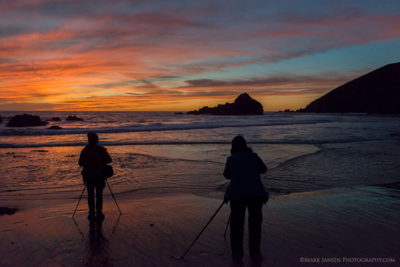 Two Photographers on a Big Sur Photography Workshop with Jansen Photo Expeditions