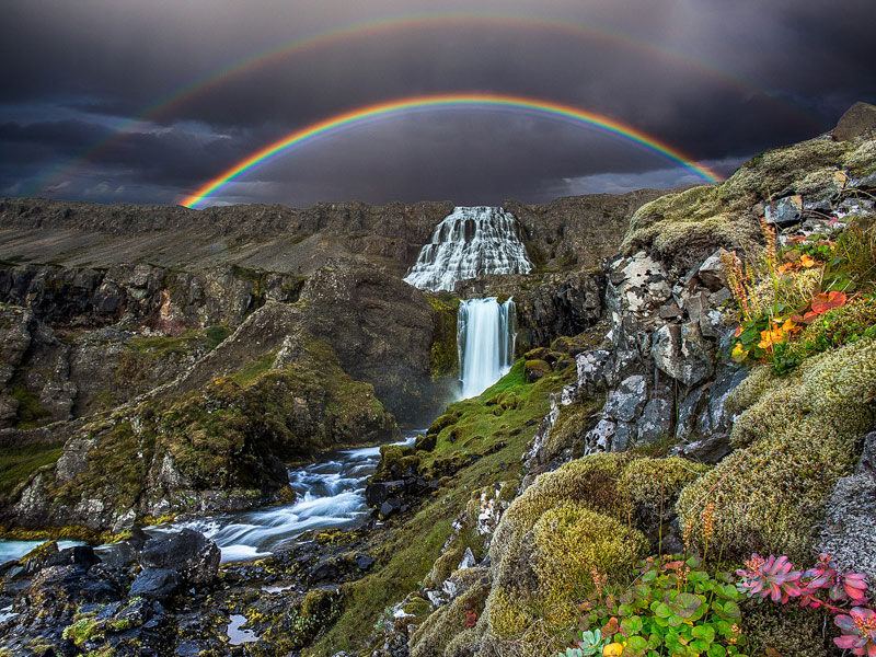 Dynjandi Waterfall in Iceland During the Photography Workshop with Jansen Photo Expeditions