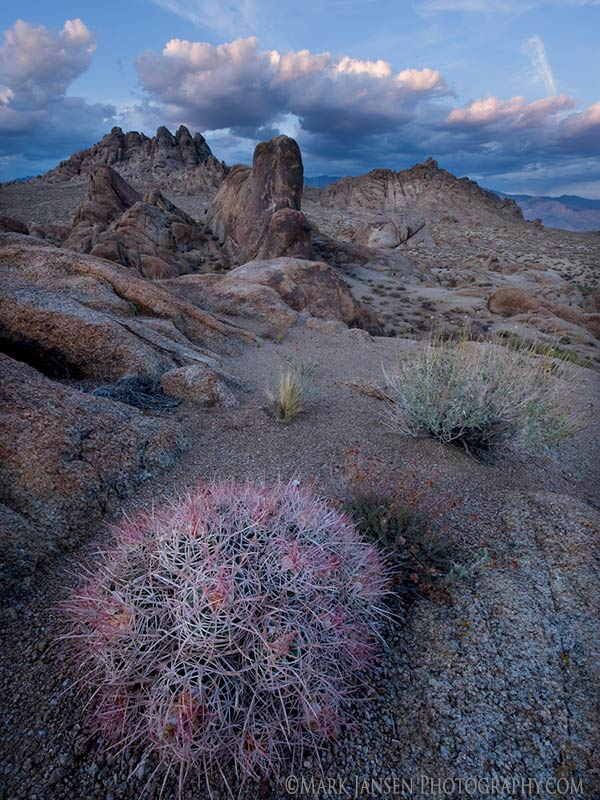 Alabama Hills in the Eastern Sierra