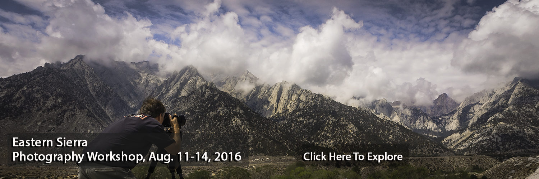 Eastern Sierra Photography Workshop, Jansen Photo Expeditions
