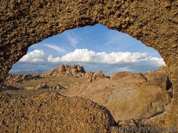Arches in the Eastern Sierra photography Workshop