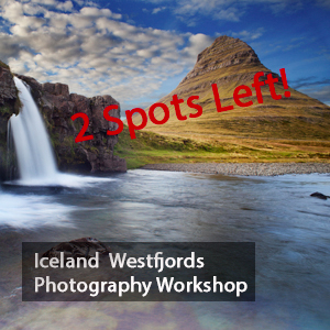 Iceland Photography Workshop Westfjords with Jansen Photo Expeditions