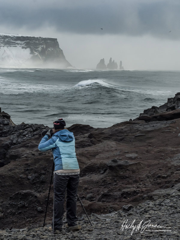 Iceland Photography Workshop Client