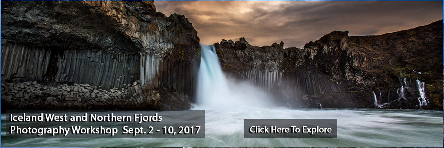 Iceland North and Western Fjords Photography Workshop