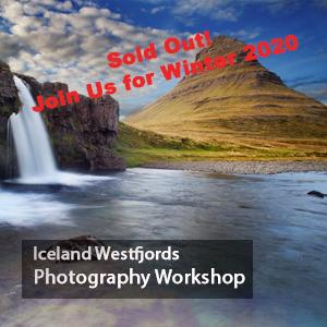 Iceland Photography Workshop West Fjords