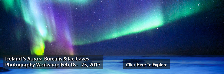 Iceland Aurora Borealis and Ice Caves Photography workshop JansenPhotoExpeditions.com