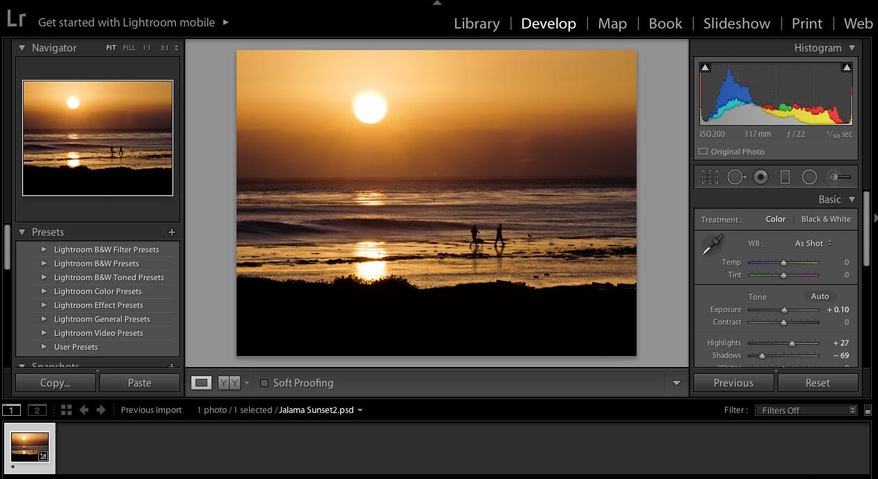 Adobe Photoshop Lightroom Online Class