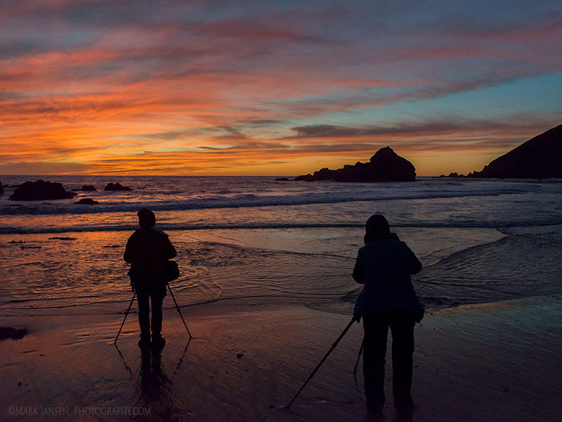 Big Sur Photography Workshop sunset