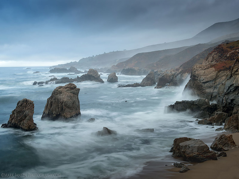 Crashing Waves during Big Sur Photography Workshop