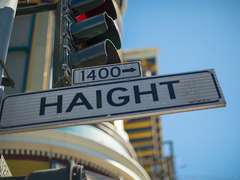 Haight Asbury during our San Francisco Photography Workshop