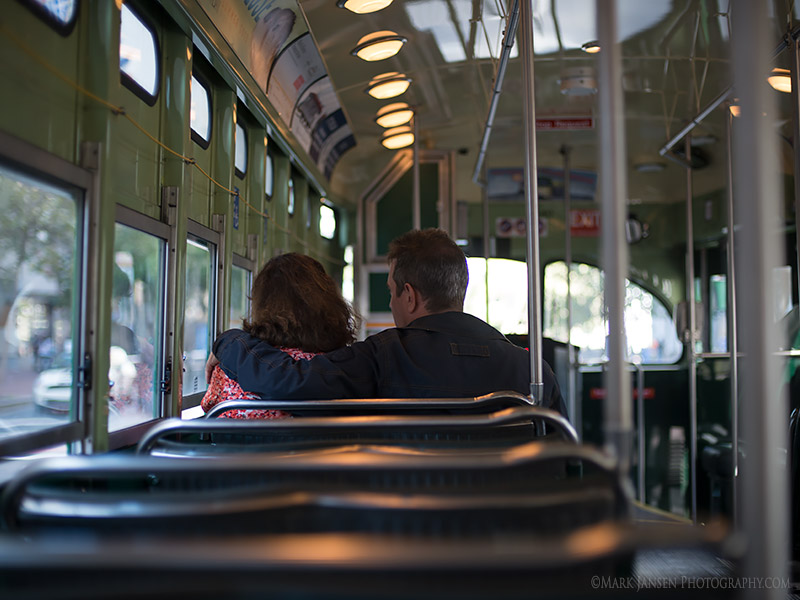 San Francisco Photography Workshop Tram Ride