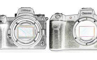 Nikon Canon Mirrorless cameras