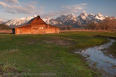 Grand Tetons Private Photography Workshops