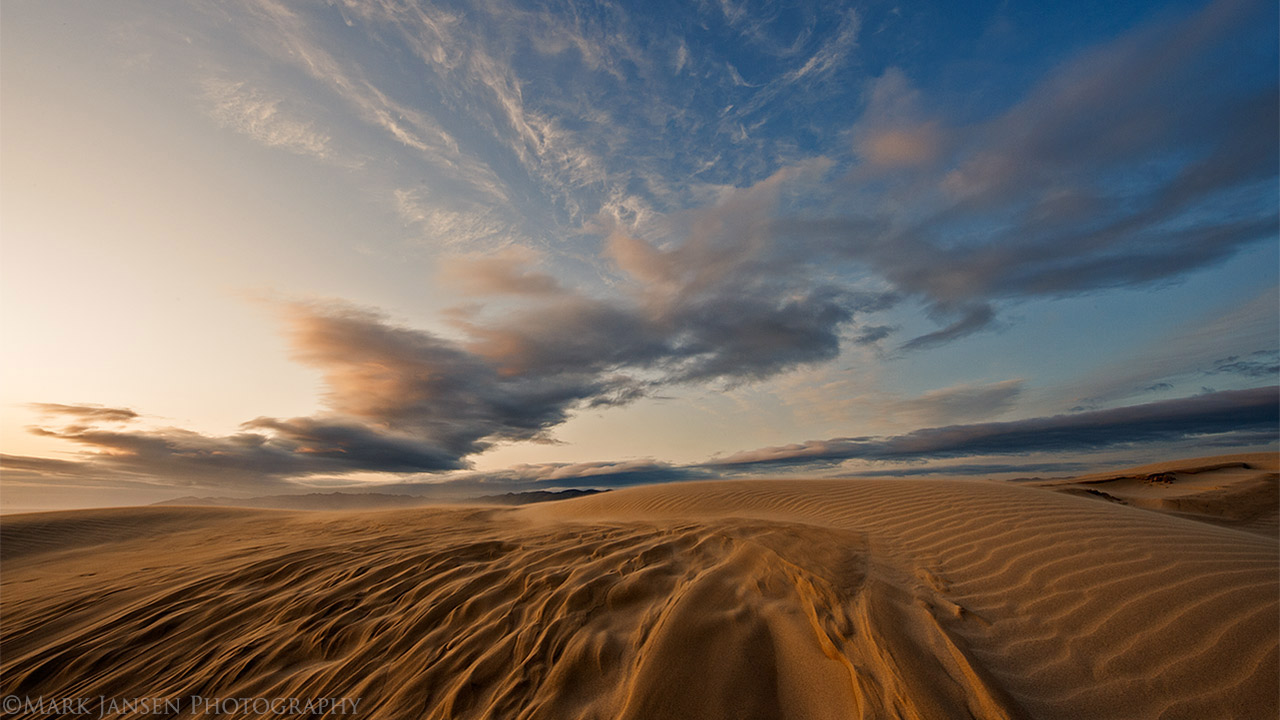 Sand Dunes Photography workshop with Jansen Photo Expeditions