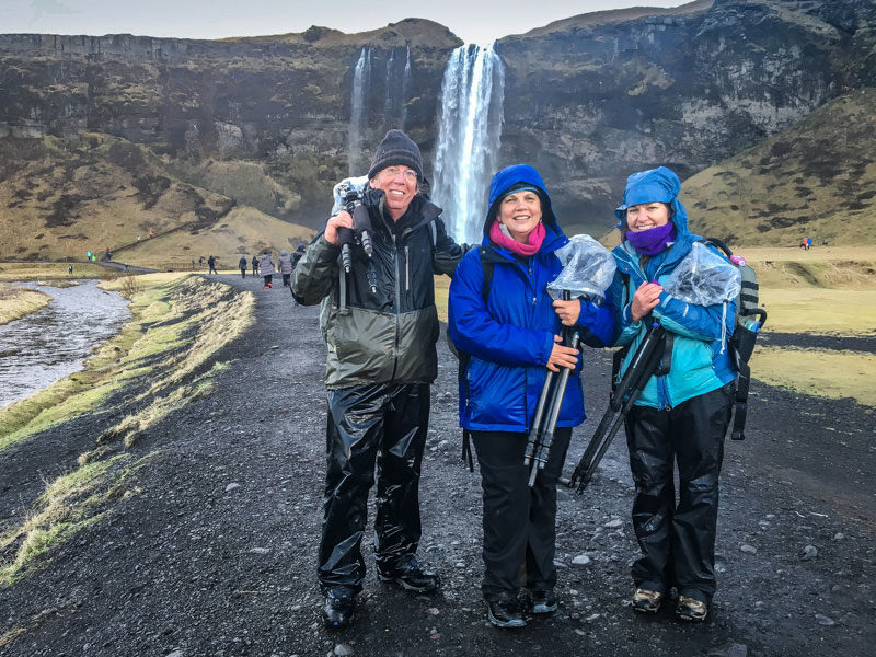 Exploring and photographying Iceland in is small groups is always preferred.