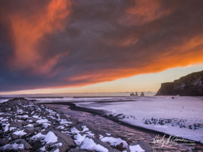 Icelands remote beaches offer the creative landscape photographers many options