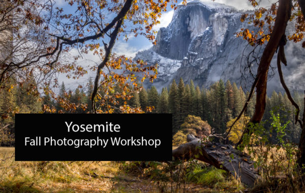 Yosemite Fall Photography Workshop Half Dome