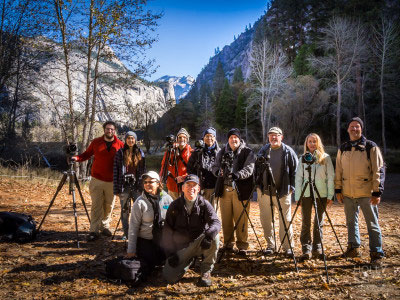 Small group photography workshops in Yosemite Valley