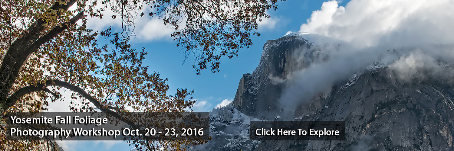 Yosemite Fall Photography Workshop, Jansen Photo Expeditions