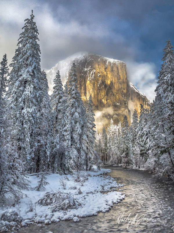Yosemite Valley Winter Photography