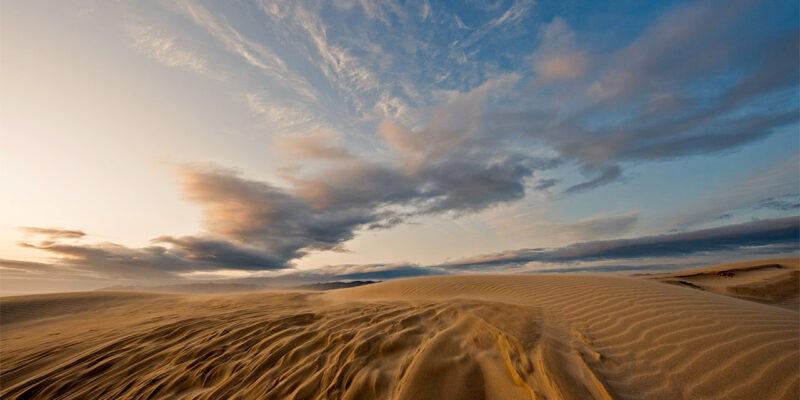 Sand dunes photo workshop