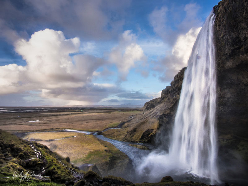 Icelands waterfalls are truly beautiful