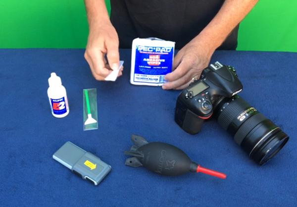 camera sensor cleaning